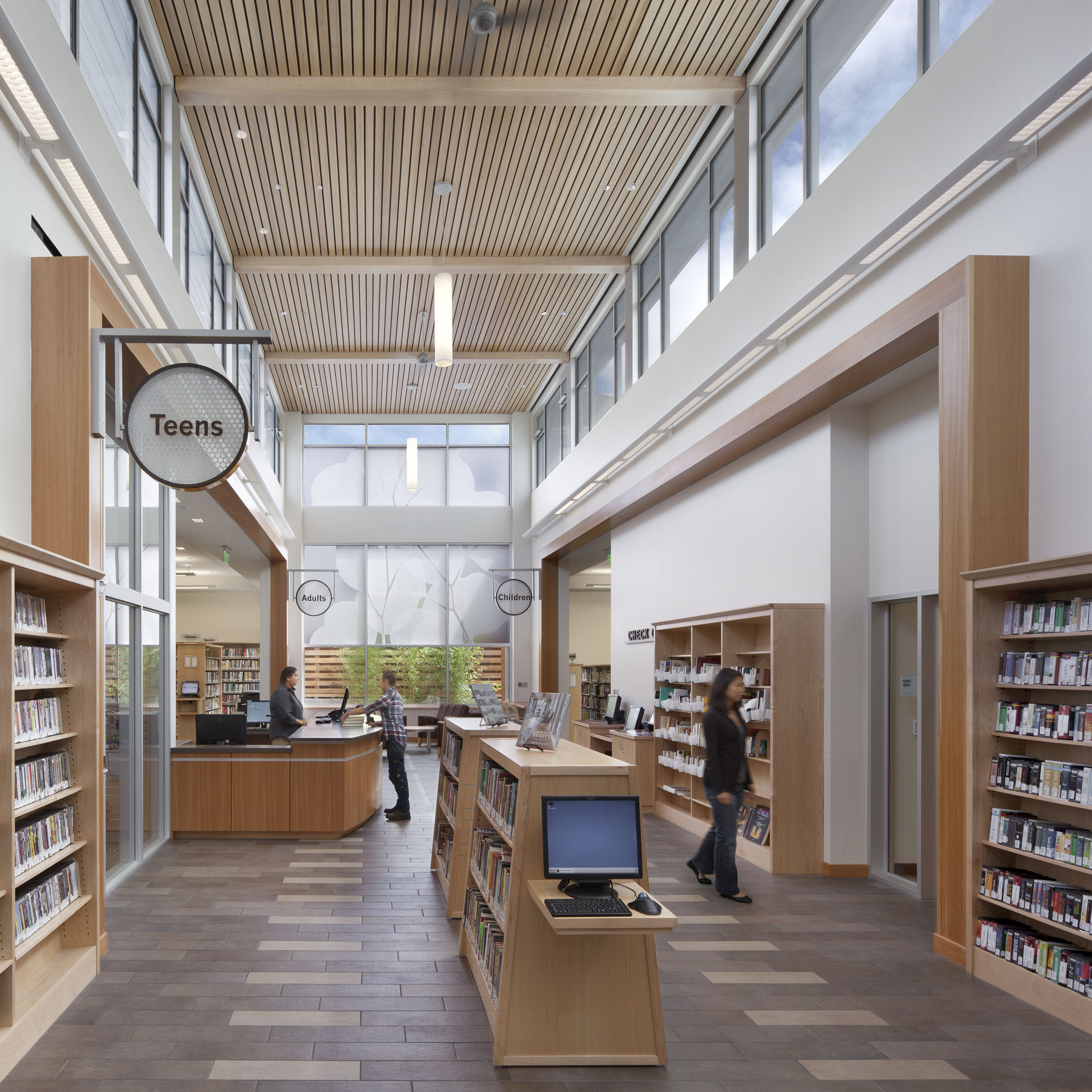 Berkeley Public Library Leads The Way With Leed Gold Certification For Newly Opened South Branch