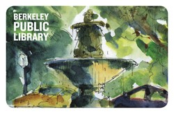 Marin Circle Fountain Library Card