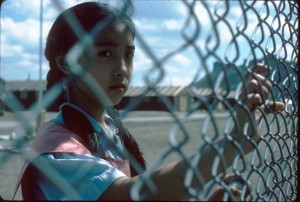 Girl at Fence