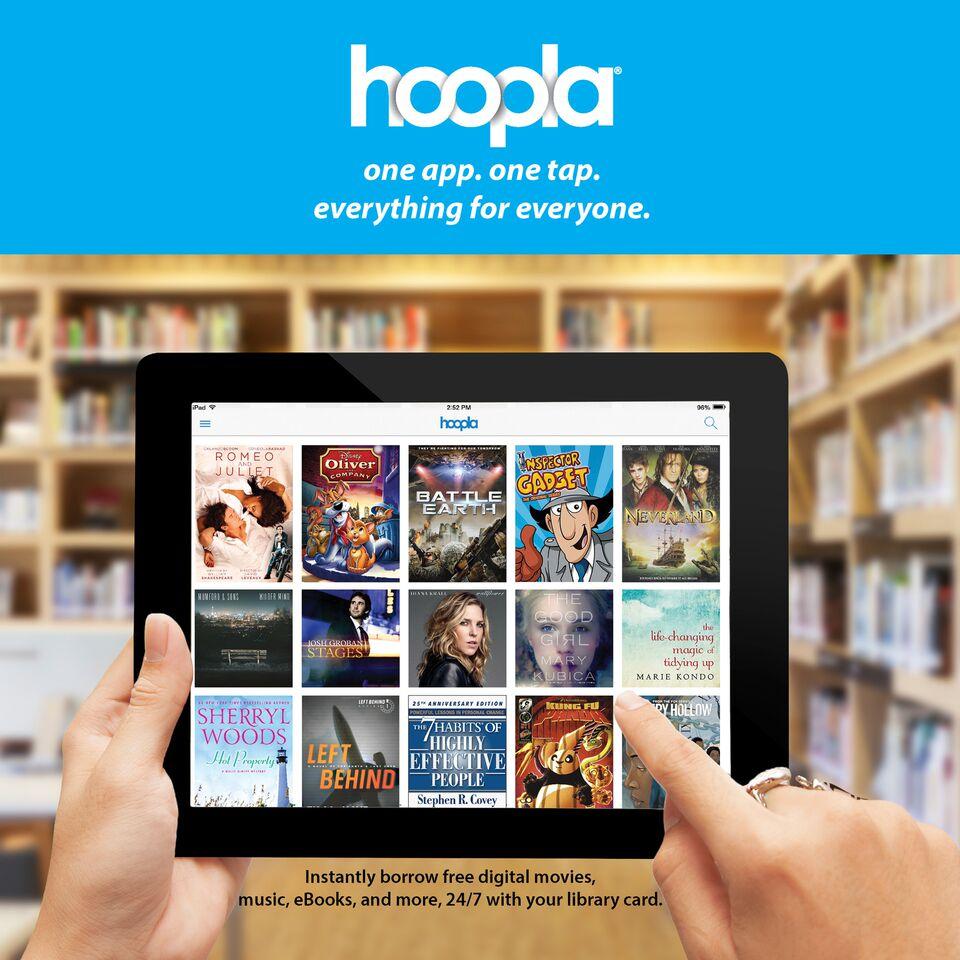 Image result for hoopla