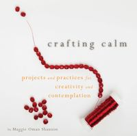 Crafting Calm book cover