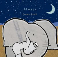 Always book cover with two illustrated elephants