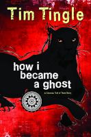 Book cover with a black panther on a red background: How I became a Ghost