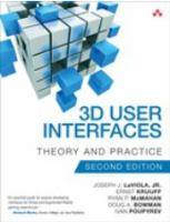 3D user interfaces : theory and practice