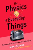 Physics of Everyday things book cover with toaster