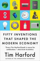 Book cover depicting multiple inventions