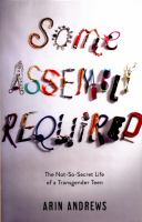 Some Assembly Required book cover