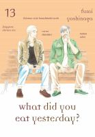 What did you eat yesterday book cover.