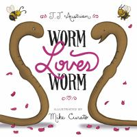 Worm loves Worm book cover