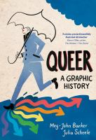 Queer a graphic history book cover