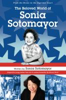 Book cover featuring Sonia Sotomayor as a young girl and grown-up.