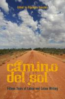 Book cover featuring a dirt road and blue sky with clouds