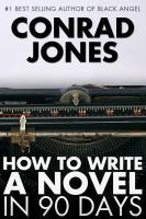 Book Cover showing a typewriter: How to write a novel in 90 days