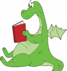 dragon reading