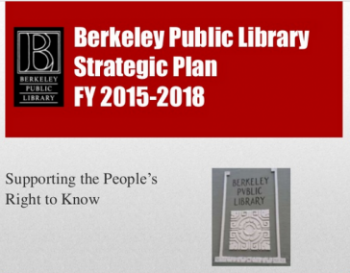 Berkeley Public Library Strategic Plan FY 2015-2018