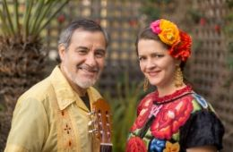 photo of Jorge Liceaga and Arwen Lawrence from Cascada de Flores; photo used by permission of Cascada de Flores