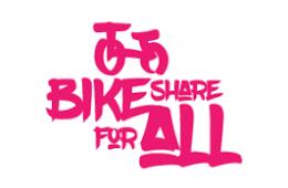 Bike Share for All Logo