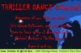 Thriller Event Ad