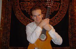 Chris Waltz with guitar