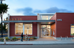 Tarea Hall Pittman South Branch Library Exterior photo: D. Wakely 2013