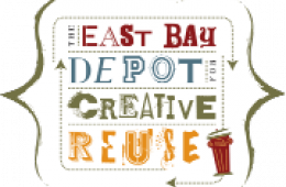 logo for the East Bay Depot for Creative Reuse