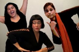 photo of performers from Eth-Noh-Tec next gen performing ensemble