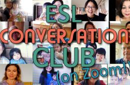 ESL Conversation Club on Zoom