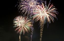 photo of fireworks; Fireworks by Bayasaa is licensed under CC By 2.0, from flickr