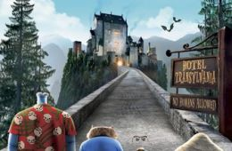Cover of the DVD of Hotel Transylvania
