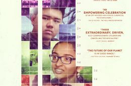 Movie poster with 6 teens on it.