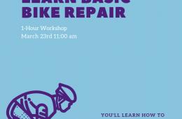 Learn basic bike repair flyer