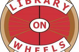 library on wheels logo