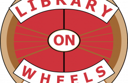 Library on Wheels Logo