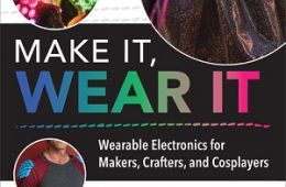 Front cover of Make It Wear It book with skirt with L.E.D. lights
