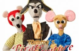 photo of puppets from Tommy's Pirate Adventure