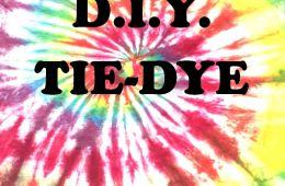D.I.Y. Tie Dye