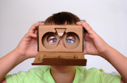 Kid with VR