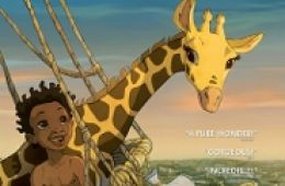 image of Zarafa movie poster; used by permission of GKids Films