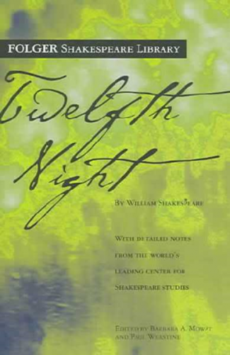 book jacket of Twelfth Night