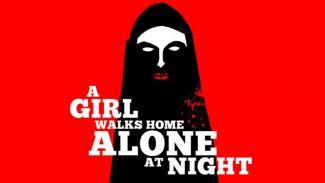 girl walks home