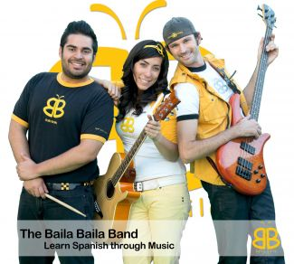 photo of Baila Baila musical group; used with permission of Baila Baila