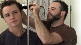 Bennet and Joe haircut