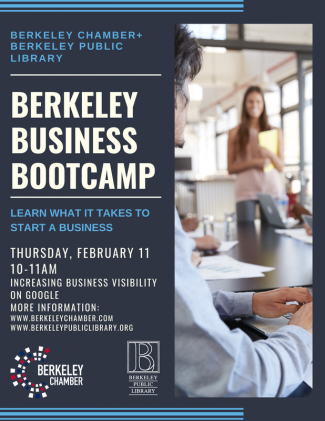 Berkeley Business Bootcamp flyer