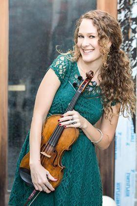 Briana Mara with fiddle