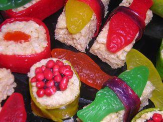 Candy sushi - image courtesy of Flickr user Jim Reynolds