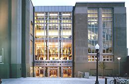 Central Library Exterior Entrance