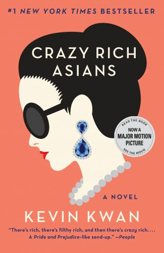 Photo of book cover: Title: Crazy Rich Asians