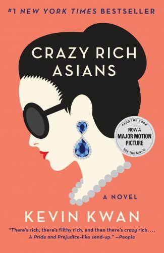 Book cover: Crazy Rich Asians