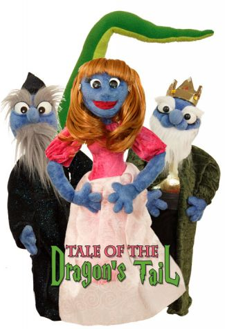photo of puppets from Tale of the Dragon's Tail