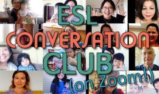 ESL Conversation Club on Zoom
